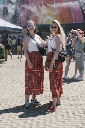 De festivaltrend:sjaalprints