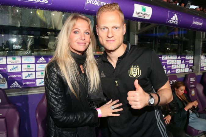 Annelien Coorevits en Olivier Deschacht