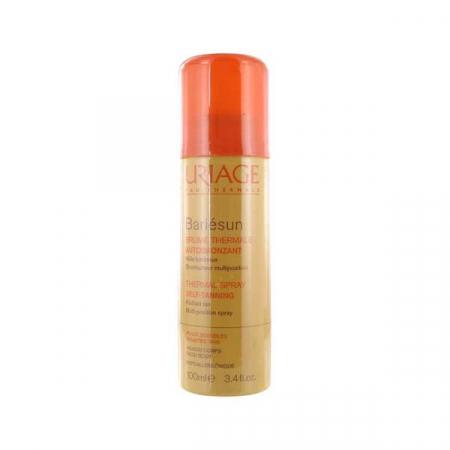Redactrice Jill probeerde de Bariésun Thermal Spray Self Tanning Radiant Tan Multi Positions Spray van Uriage