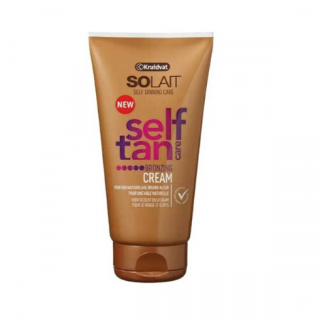 Beautyredactrice Elisabeth testte de Self Tan Bronzing Cream van Kruidvat