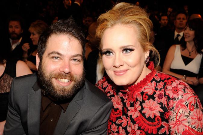 Adele Adkins (31) & Simon Konecki (45)