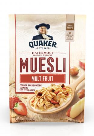 Quaker oats : muesli multifruit