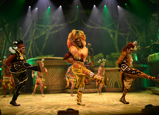 'The Lion King: Rhythms of the Pride Lands' in het Frontierland Theater