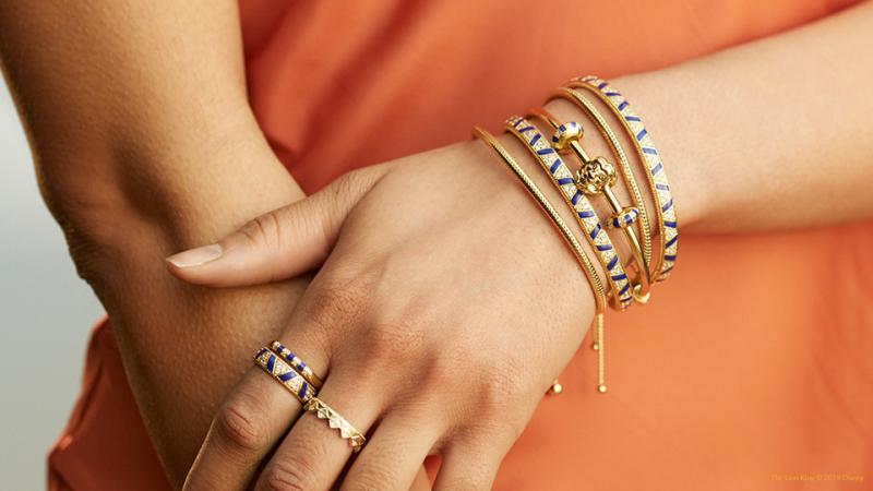 bracelet pandora disney roi lion