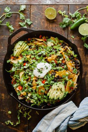 Salade de nachos