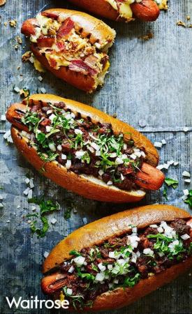 Hot dog au chorizo
