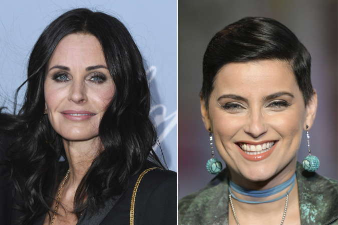 Courteney Cox – Nelly Furtado
