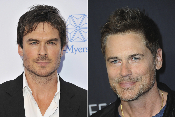 Ian Somerhalder – Rob Lowe ('Parks and Recreation')