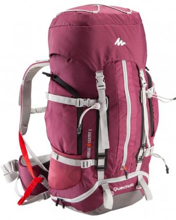 Roze backpack (50 liter)