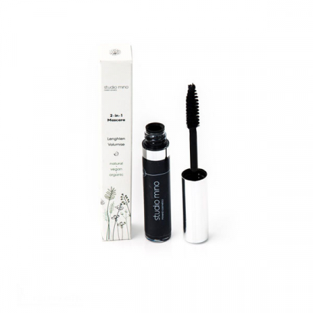 2 in 1 lengthening & volumizing mascara – Studio Mino