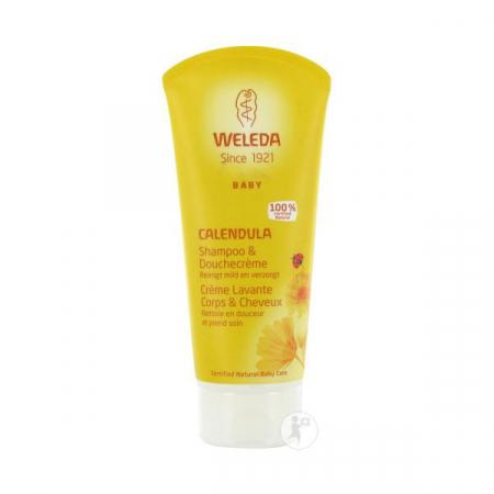 Calendula Shampoo & douchecreme baby – Weleda