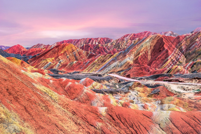 Zhangye National Park, China