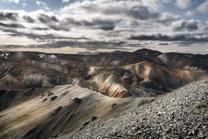 Landmannalaugar, IJsland