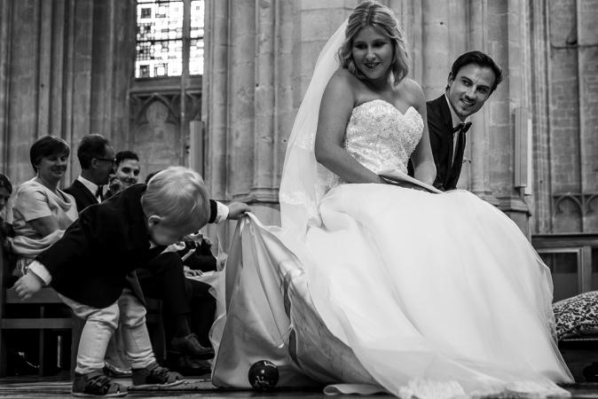 De bruidsjonker(s)