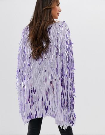Kimono sequins