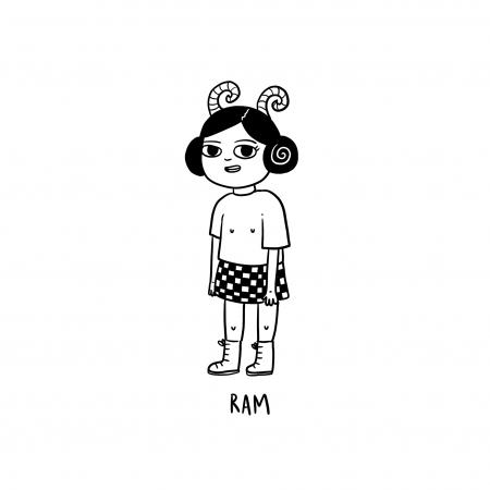 Ram(21 maart – 20 april)