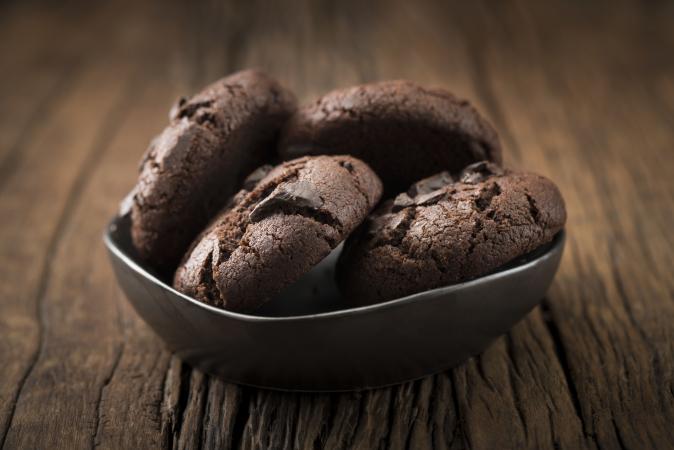 Glutenvrije chocoladekoekjes
