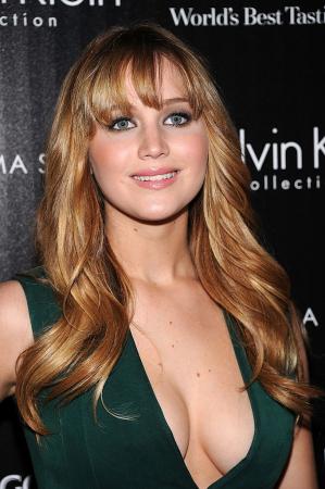 La frange décoiffée de Jennifer Lawrence
