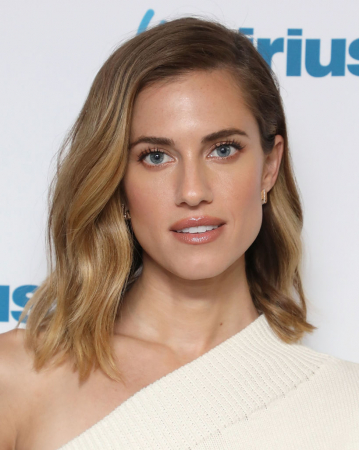 Le side hair d'Allison Williams