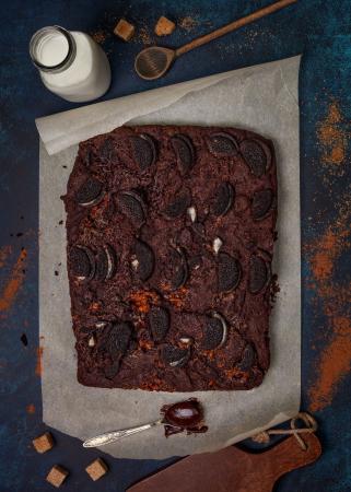 Brownie van Oreo's
