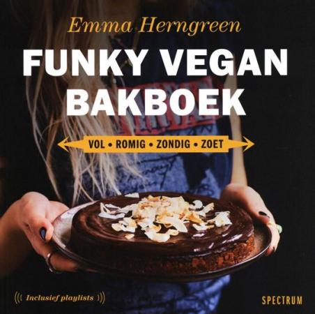 'Funky Vegan Bakboek' van Emma Herngreen