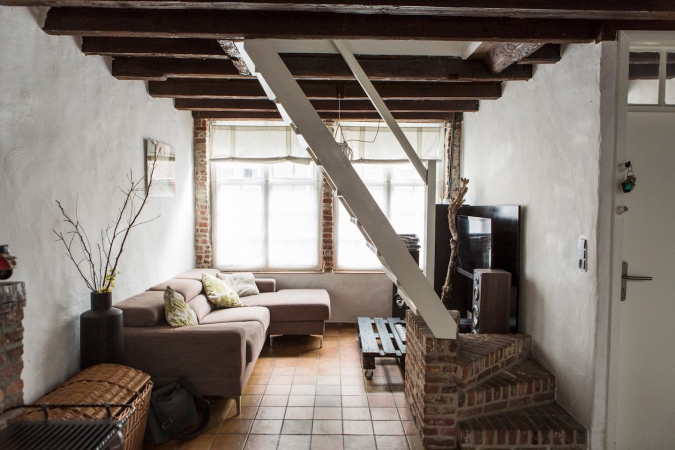 Authentiek huisje in Brugge