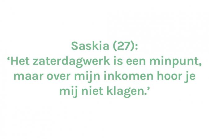 Saskia (27) – € 1.500 (4/5de) + € 200 (bijberoep)