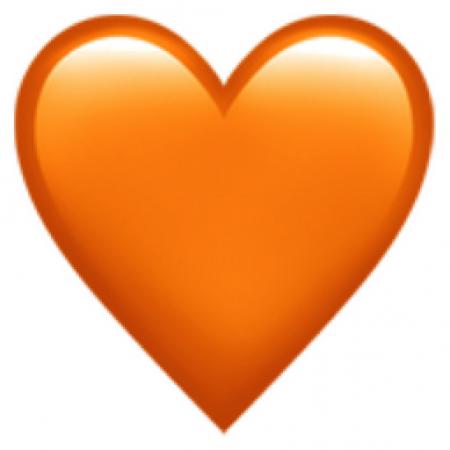 Oranje hartje