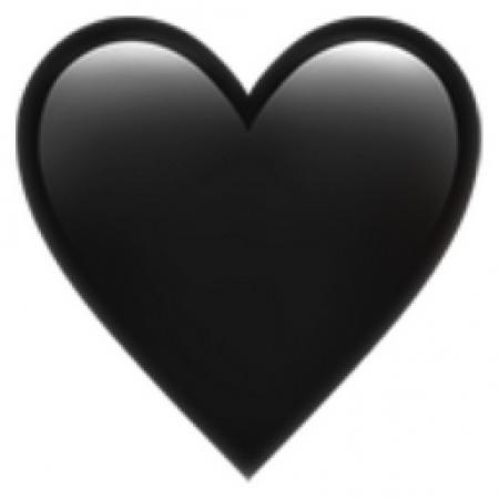 Zwart hartje