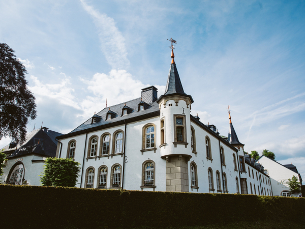 Château d'Urspelt in Clervaux, Luxemburg
