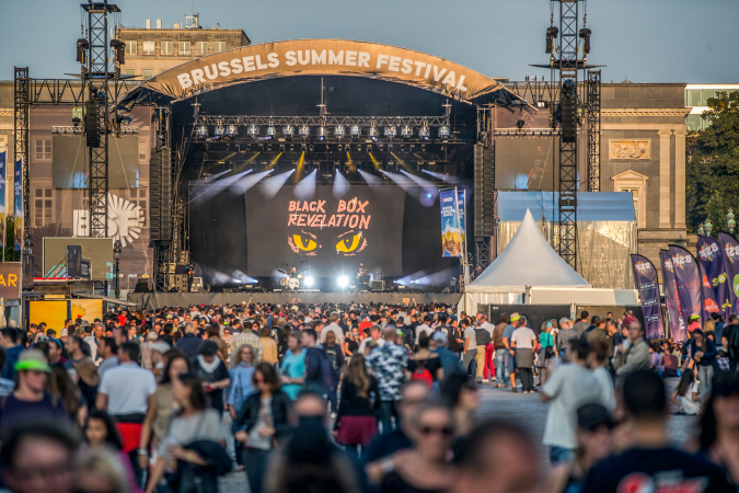 Le Brussels Summer Festival – BRUXELLES
