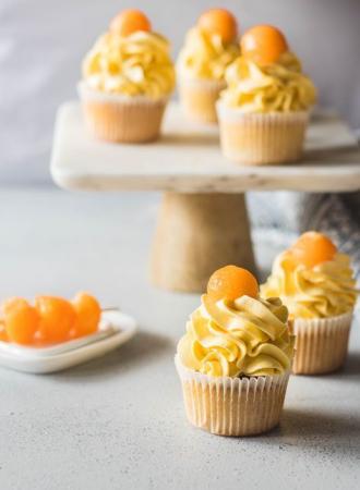 Cupcakes au melon