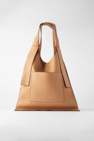 Sac shopper plat – Zara