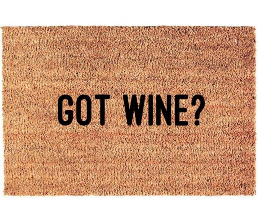 Deurmat 'Got wine?'
