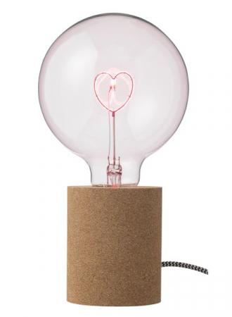 LED-lamp met hartje