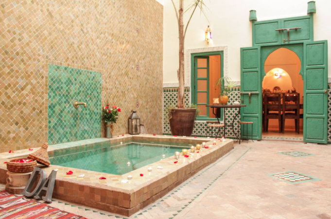 In je eigen privériad – Marrakesh, Marokko