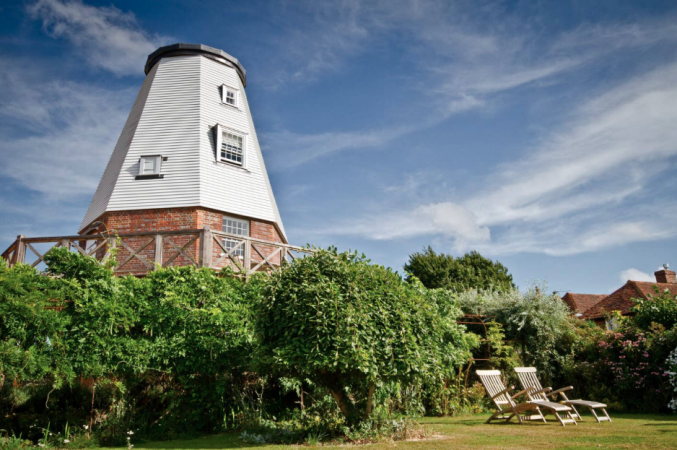 In een oude windmolen – Kent, Verenigd Koninkrijk