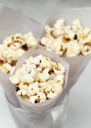 Popcorn met kokosnootolie