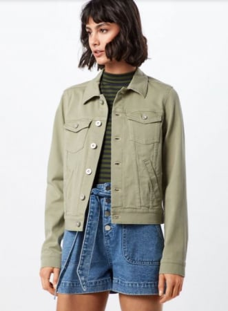 Gekleurd jeansjasje