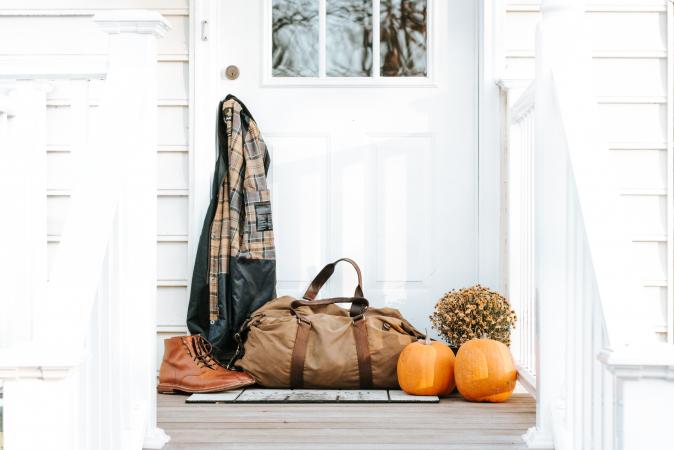 7. Ga helemaal los met (DIY-)herfstdecoratie