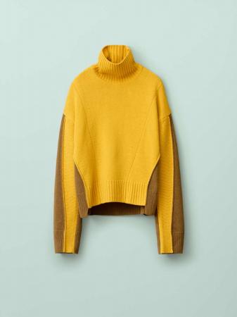 Pull ample en laine