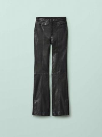 Pantalon habillé en cuir