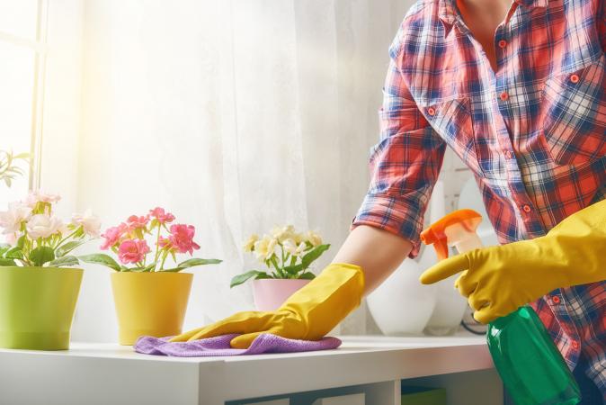 Maak goed schoon