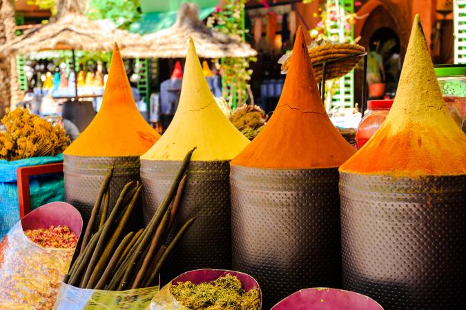 Les épices marocaines