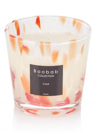 Coral Pearls geurkaars van Baobab