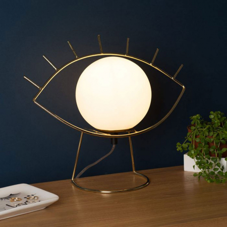 Lamp golden eye