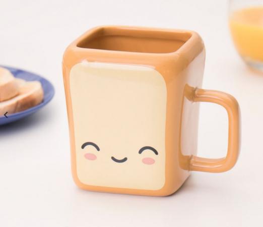 Tas in de vorm van een toast