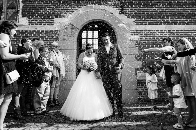 De eerste foto als man en vrouw