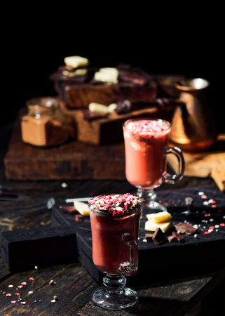 Red velvet chocolademelk