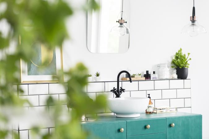 Groei planten in je badkamer